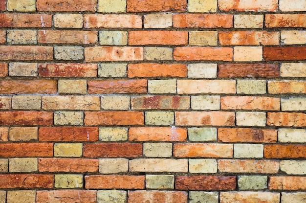 レンガの壁の質感 無料写真