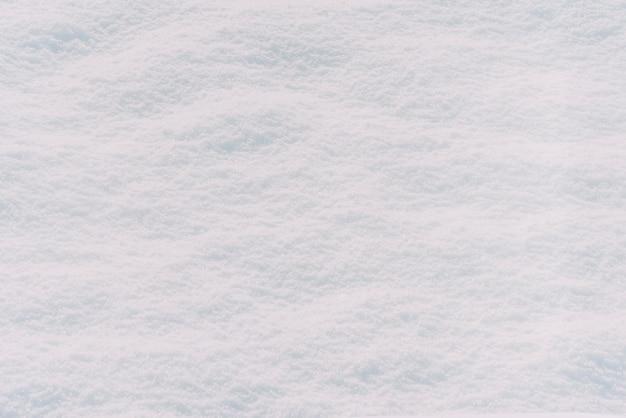 白い雪のテクスチャの背景 無料写真