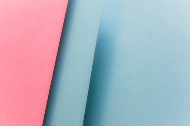 幾何学的な紙の抽象的な背景のフルフレーム 無料写真