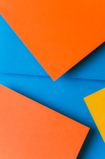 Современный дизайн материала цветной бумаги фон Бесплатные Фотографии
