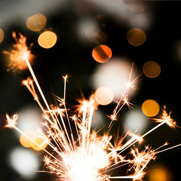 Светлый праздничный бенгальский свет Бесплатные Фотографии
