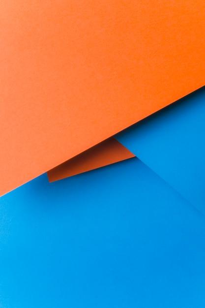 抽象的な紙の背景の上から見る 無料写真