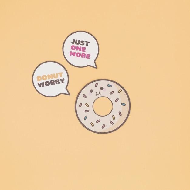 Говорящий пончик Бесплатные Фотографии