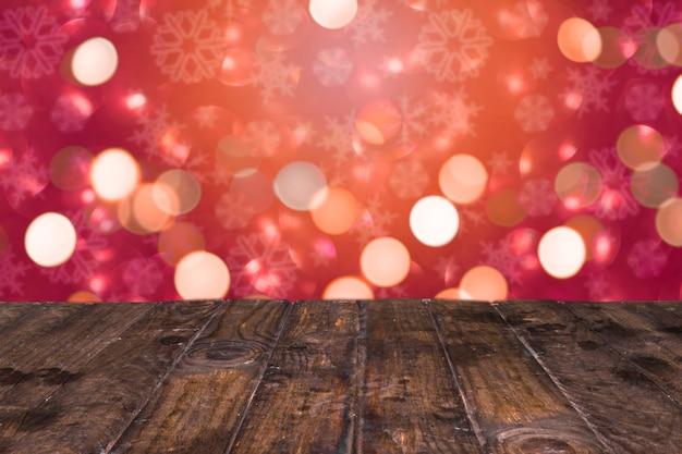 クリスマスのスタイルで素敵な光り輝く背景 無料写真