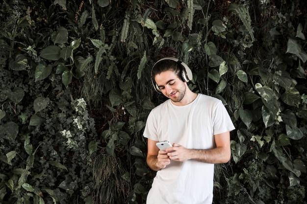 音楽を聴く 無料写真