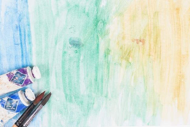 水彩画の背景 無料写真