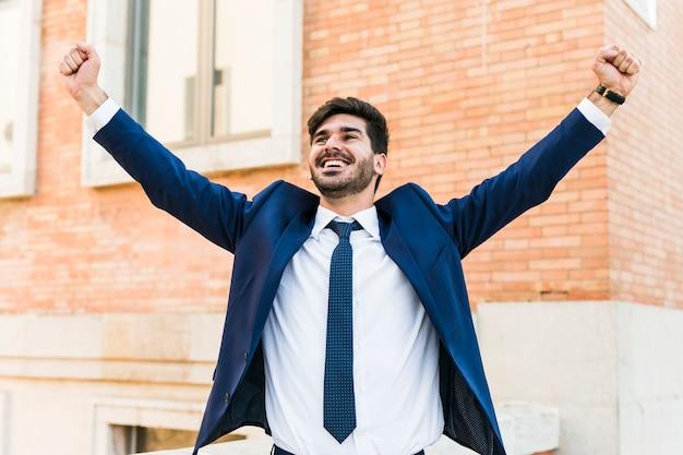 Счастливый бизнесмен Бесплатные Фотографии