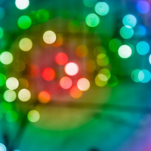 Фон с цветным праздничным натуральным боке Бесплатные Фотографии