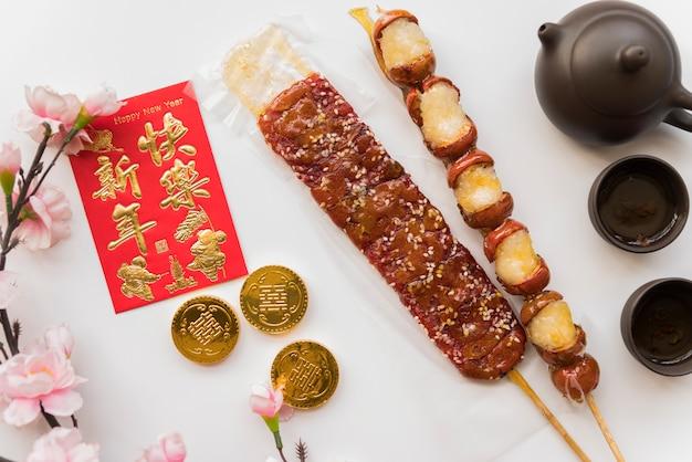 Пища для китайского нового года Бесплатные Фотографии
