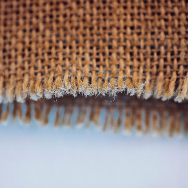 黄麻布の繊維 無料写真