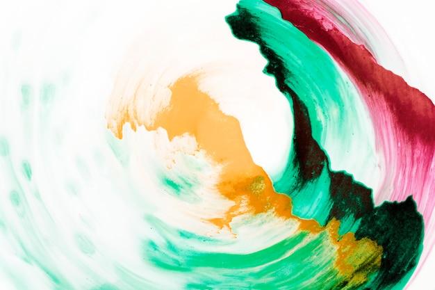 Абстрактный разноцветный фон ручной росписью Бесплатные Фотографии