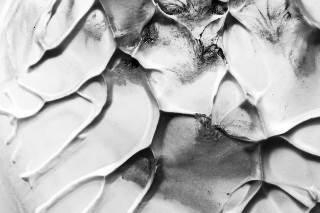 Конец-вверх старой черно-белой треснутой текстурированной стены Бесплатные Фотографии