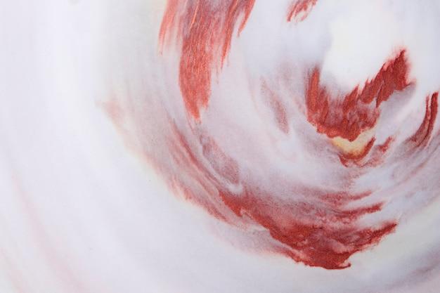 茶色の水彩テクスチャデザインの白い泡の背景と混合 無料写真