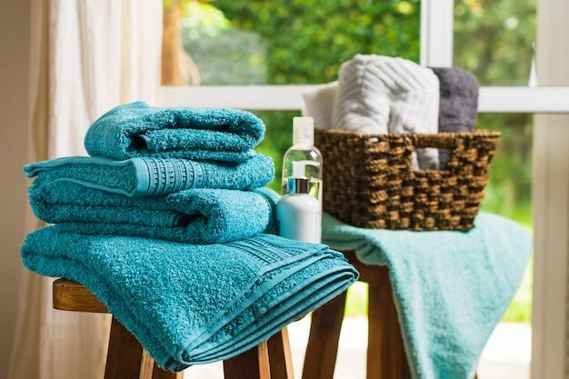 Красивая композиция для концепции спа или ванны Бесплатные Фотографии