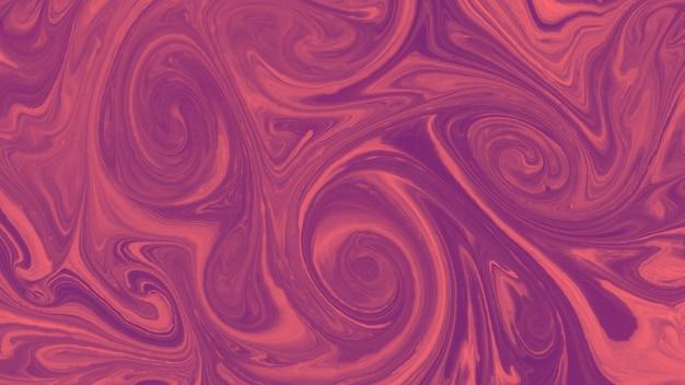 渦巻き模様のペイントテクスチャ大理石スタイルの背景 無料写真