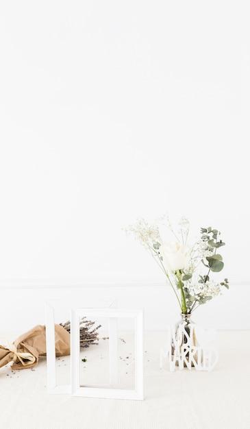 装飾的な結婚式の要素 無料写真