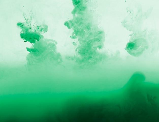 Абстрактное густое зеленое облако дымки в зелени Бесплатные Фотографии
