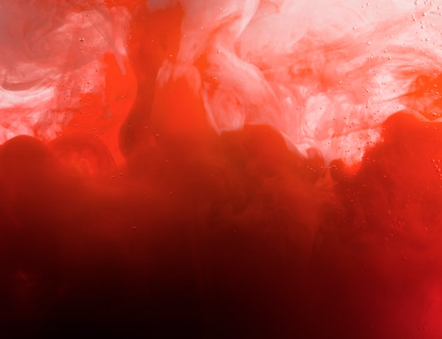 ヘイズの重い赤い雲 無料写真
