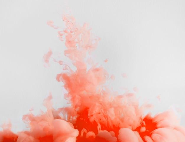 流れる濃い赤い雲 無料写真