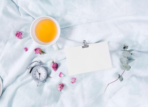 Завтрак с чашкой чая Бесплатные Фотографии