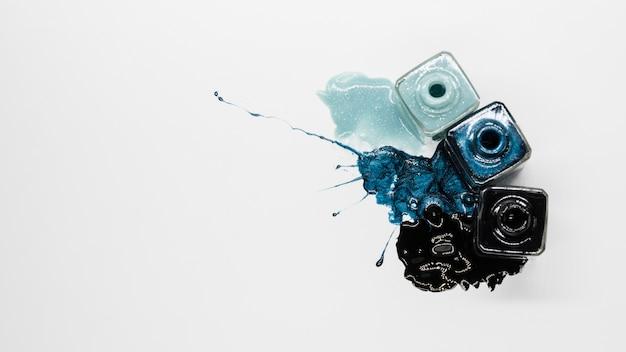 汚れとマニキュアのメイクアップ 無料写真