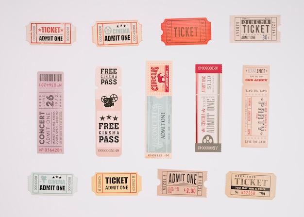 ヴィンテージ映画のチケット 無料写真