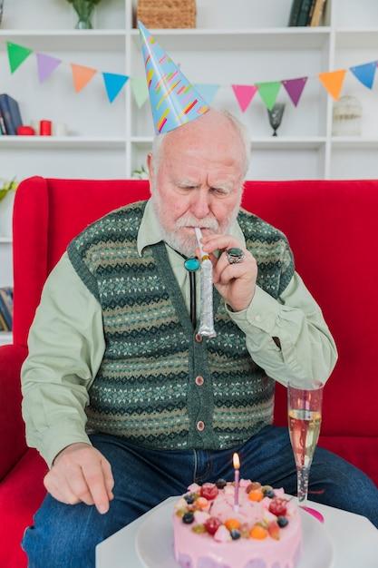 Фото с днем рождения старик