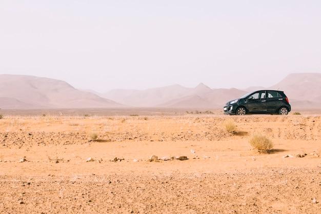 モロッコの砂漠の風景 無料写真
