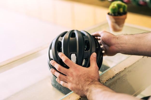 自転車用ヘルメット 無料写真