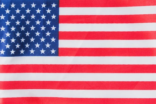 フラットアメリカの国旗 無料写真
