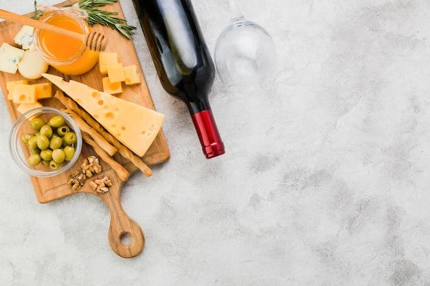 チーズ前菜 無料写真