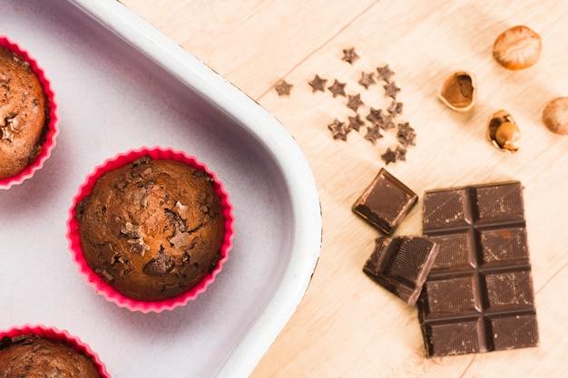 Шоколадные маффины Бесплатные Фотографии