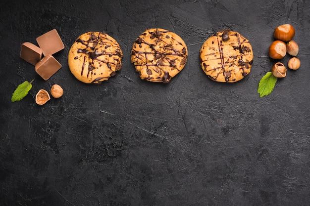 Шоколадные печеньки Бесплатные Фотографии