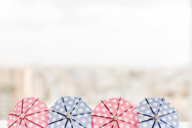 Бумажные коктейльные зонтики Бесплатные Фотографии