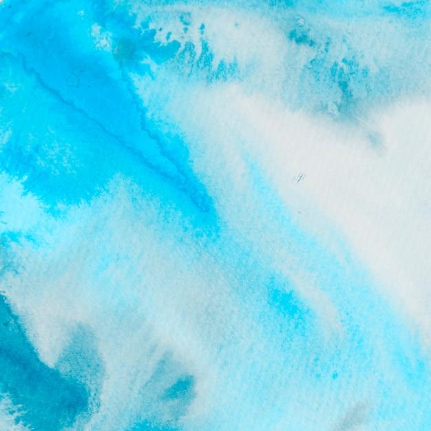 青いペンキテクスチャ背景 無料写真
