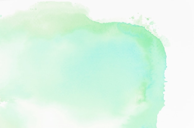 Зеленая абстрактная акварель текстура фон Бесплатные Фотографии