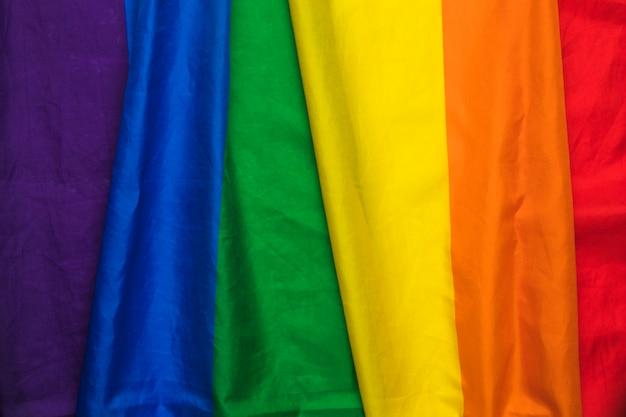 Полосатый радужный гей-флаг Бесплатные Фотографии