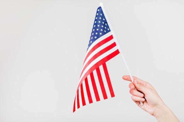 Рука с флагом сша Бесплатные Фотографии