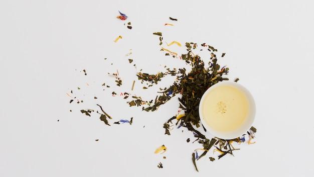 トップビュー茶碗 無料写真