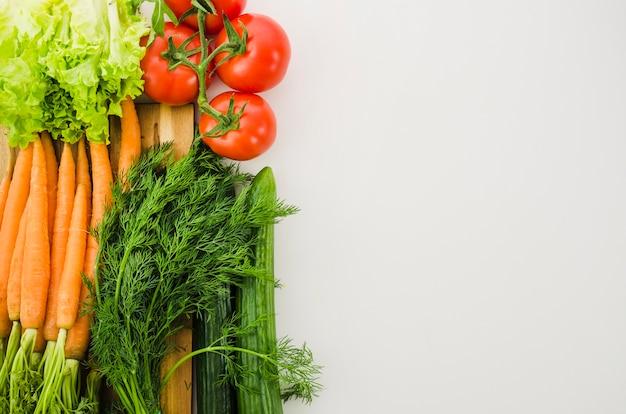 Полезные ингредиенты включены в салат Бесплатные Фотографии