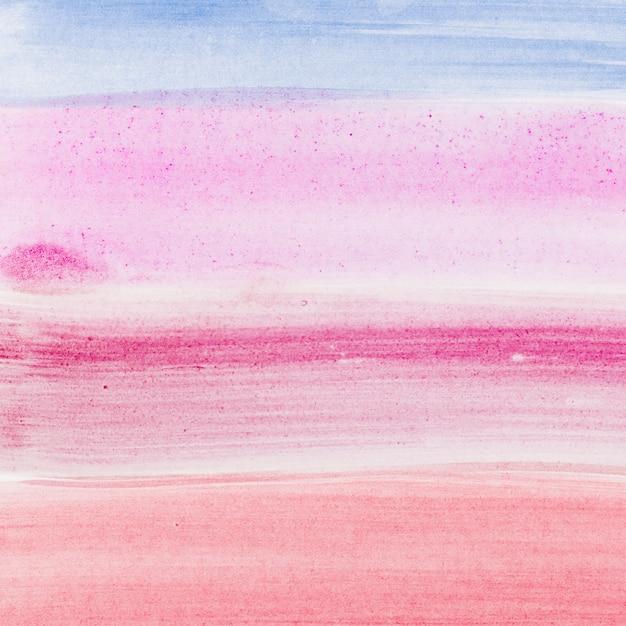 水彩抽象ブラシストロークの背景 無料写真