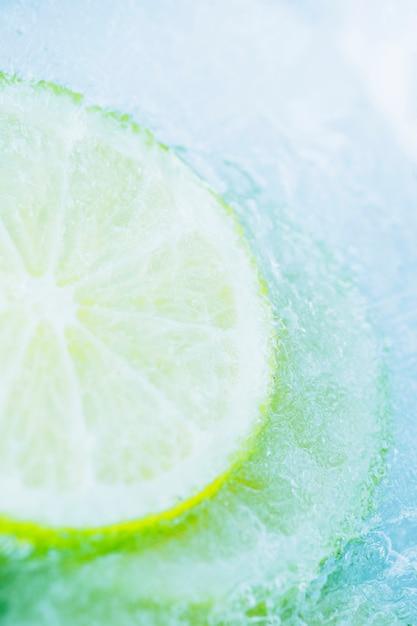 冷凍レモンスライス 無料写真