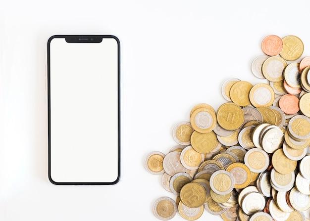 お金とオフィスのデスクトップ 無料写真