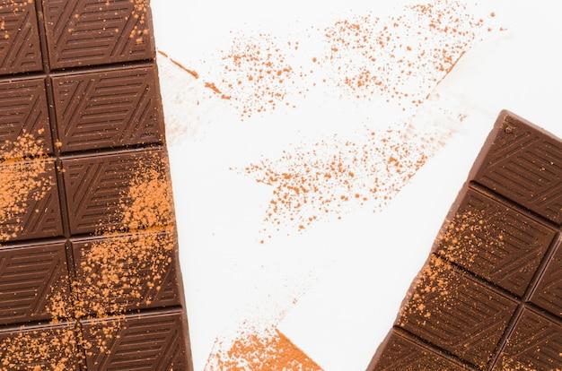 Шоколадные батончики с какао Бесплатные Фотографии