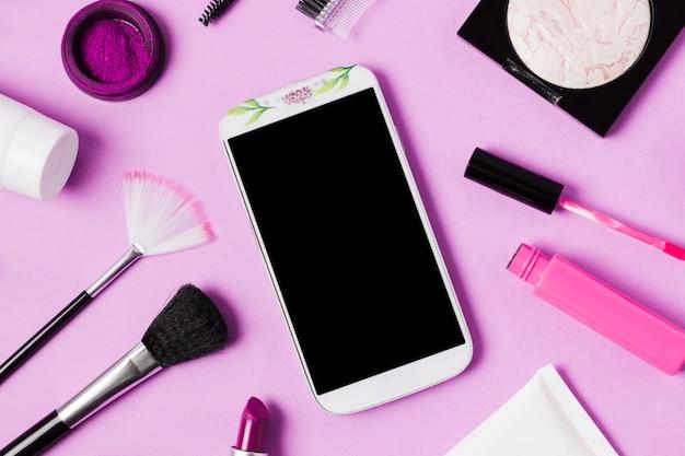携帯電話や化粧品の組成 無料写真