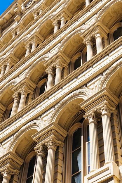 美しい歴史的建造物のファサード 無料写真