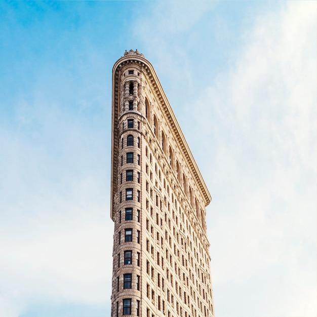 ニューヨークのフラットアイアンビル 無料写真