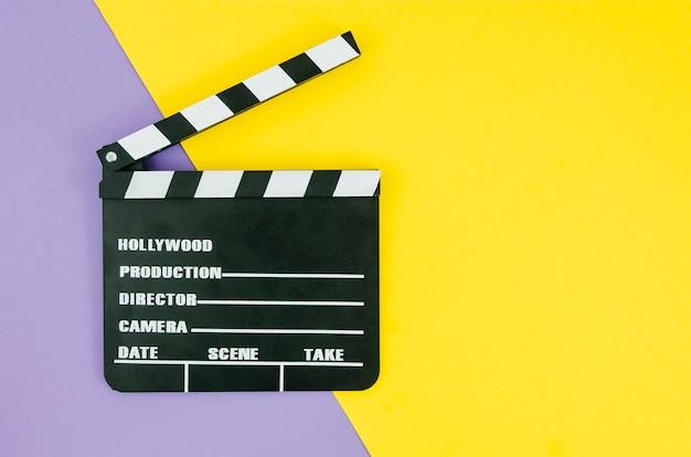 Плоская кладка с 'хлопушкой' для кинотеатра Бесплатные Фотографии