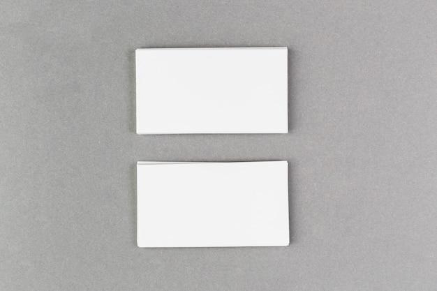 Макет пустой визитной карточки Бесплатные Фотографии