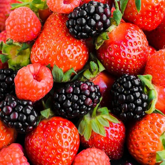 季節の熟した果実 無料写真